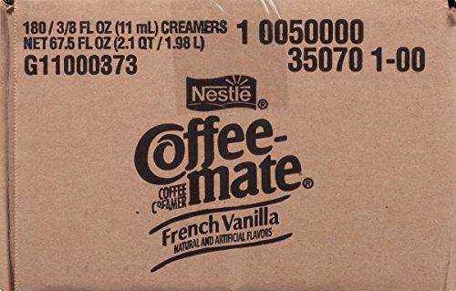 050000350704 - NESTLE COFFEE-MATE Coffee Creamer, French Vanilla, liquid creamer singles, Pack of 180 carousel main 3