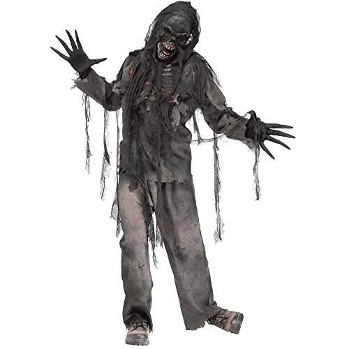 Burnt Zombie Adult Costume Size