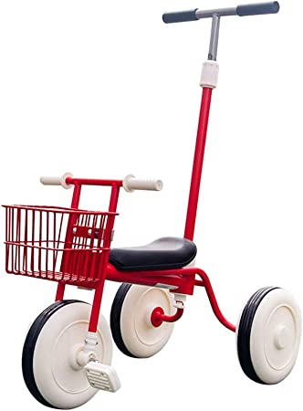 HUIHUAN Triciclo Retro para niños, Bicicleta Simple, balancín con empuñadura y Pedal, la Carga máxima es de 30 kg, Adecuado para bebés de 1-4 años: Amazon.es: Hogar