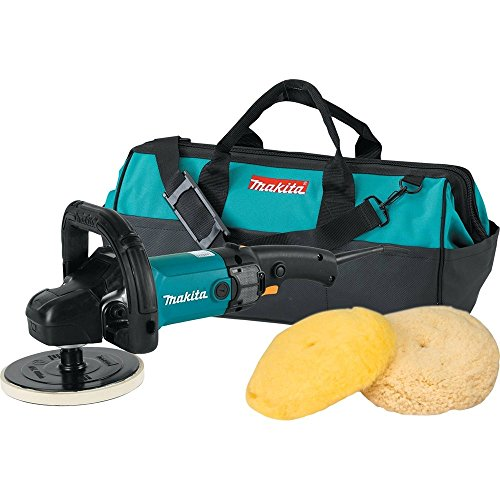 Makita 9237CX3 7-Inch Variable Speed Polisher-Sander with Polishing Kit