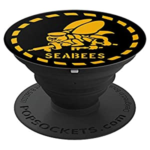 U.S. NAVY SEABEES ORIGINAL NAVY SEABEES GIFT - PopSockets Grip and Stand for Phones and Tablets from PopSockets