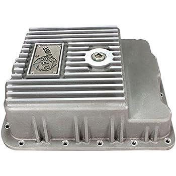 Amazon bm 70260 cast deep pan automotive afe power 46 70240 gm trucks transmission pan raw machined fandeluxe Images