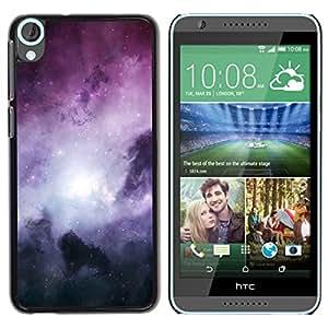 Carcasa de plástico funda  |  |  HTC Desire 820  |  |  Galaxy Stardust espacio urdir gascubren @ XPTECH
