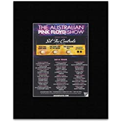AUSTRALIAN PINK FLOYD SHOW - Set The Controls UK Tour 2014 Mini Poster - 13.5x10cm