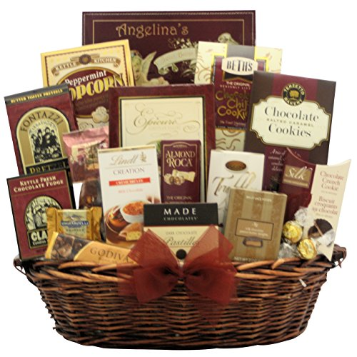 GreatArrivals Peace and Prosperity Chocolate Holiday Christmas Gift Basket, Large, 9 Pound