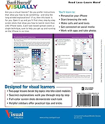 Teach Yourself Visually Iphone 7: Covers Ios 10 and All Models of