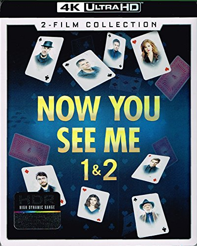 Now You See Me / Now You See Me 2 [4K Ultra HD Blu-ray]