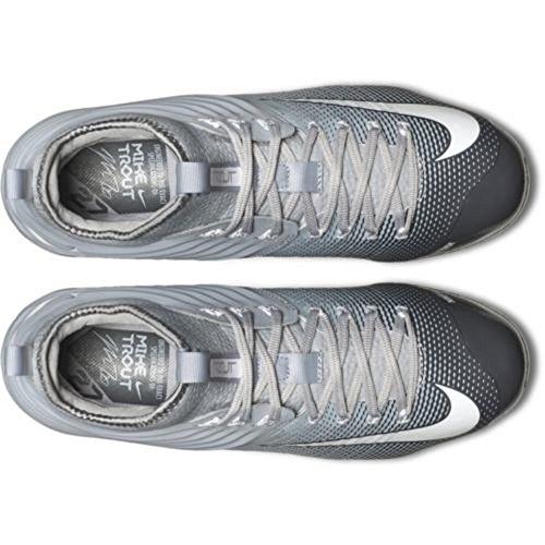 Nike Lunar Trout 2 Männer Mike Baseballschuhe Grau