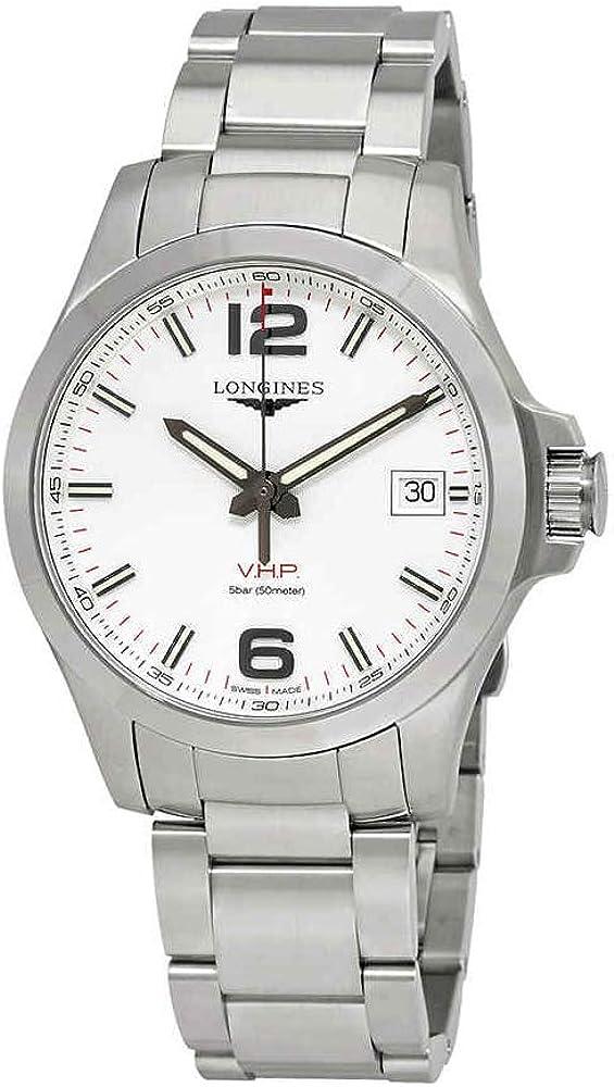 Longines Conquest V.H.P. Reloj de plata para hombre L3.716.4.76.6