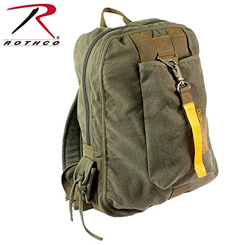 Olive Drab Vintage Canvas Flight Bag (Flight Gear Backpack compare prices)