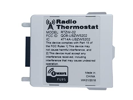 Radio Thermostat Z-Wave Plus USNAP Module RTZW-02