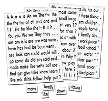 Magnetic Sight Words & Sentence Builders -- Case of 3
