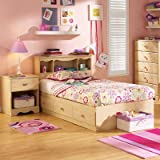 Bundle-95 Lily Rose Mates Twin Captain Bedroom Collection (4 Pieces)