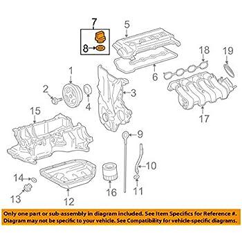 Toyota 12180-38030 Oil Filler Cap Sub Assembly