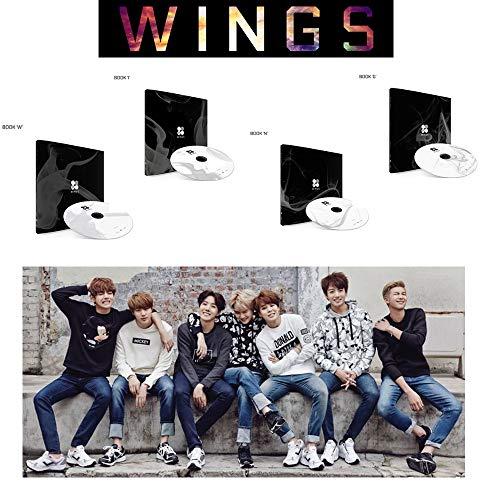 Vol. 2 Album BANGTAN BOYS 2nd BTS WINGS [ W+I+N+G ver. Set] 4CD + Photo Book + Polaroid Photocard + Special Gift (Bts 2 Cool 4 Skool O Rul8 2)