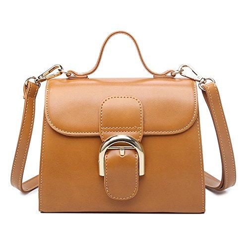 brown Handbag Sac Meaeo Sac Marron Sac Nouveau Handbag Mode Rétro qC1zw