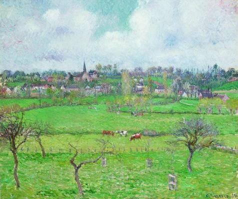 Air Dancer Costume Video (The High Quality Polyster Canvas Of Oil Painting 'Camille Pissarro-Landscape At Bazincourt,1884' ,size: 20x24 Inch / 51x61 Cm ,this Replica Art DecorativePrints On Canvas Is Fit For Foyer Decoration And Home Gallery Art And Gifts)