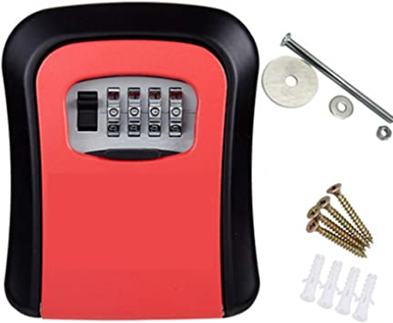 Llave de la puerta Caja de bloqueo de la contraseña Seguridad Llave de la puerta Caja de la contraseña Contraseña Caja pequeña,3: Amazon.es: Bricolaje y herramientas