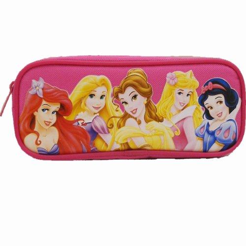 Nice 1 X Dark Pink Disney Princess Pencil Case free shipping