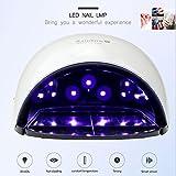 OSM&LX Nail Lamp LED UV Nail Dryer 36W Fast Gel Nail Lamp Polish Light Smart Auto-Sensing 4 Timer Setting For Professional Gel Lamp Salon At Home