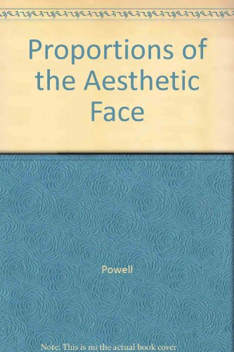 Proportions of the Aesthetic Face (The American Academy of Facial Plastic and Reconstructive Surgery)