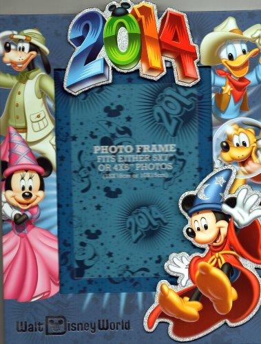 Walt Disney World Mickey & Gang 2014 Photo Picture 4x6 Frame - NEW
