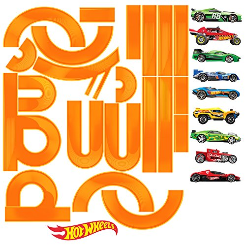 Hot Wheels Wall Accent - Hot Wheels Cars & Track Large Wall Decal Set 2