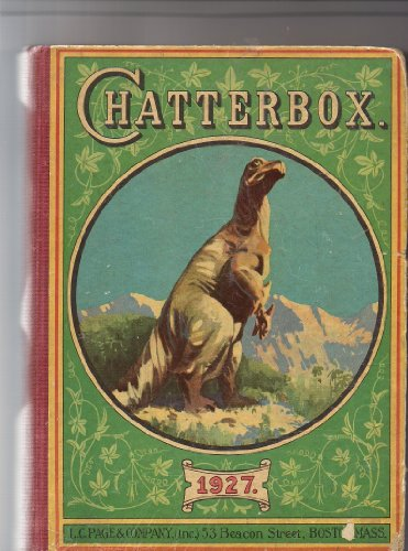 Chatterbox 1927-has Color Plate By R. Atkinson Fox
