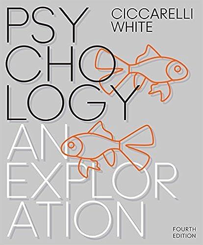 Psychology An Exploration Kindle Edition By Saundra K
