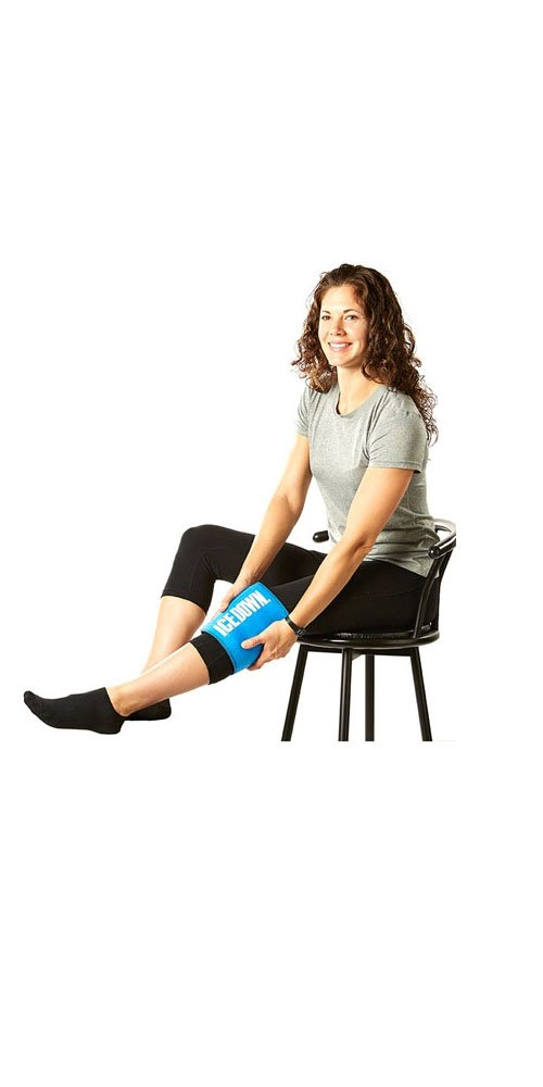 Large Cold Therapy Wrap with Ice Pack for Back by I.C.E. Down