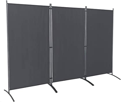 Amazon Com Steelaid Room Divider Folding Partition Privacy Screen For School Church Office Classroom Dorm Room Kids Room Studio Conference 102 W X 71 Inches Freestanding Foldable