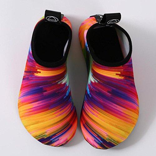 Deesee (tm) Uomini Donne Allaperto Sport Acquatici Immersioni Yoga Calze Da Surf Nuotare Spiaggia Snorkeling Calze Multicolor