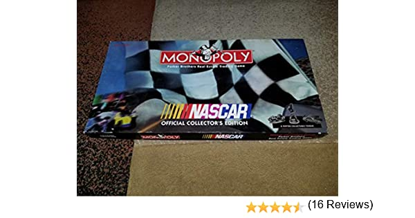 Monopoly Nascar Official Collectors Edition by Monopoly: Amazon.es: Juguetes y juegos