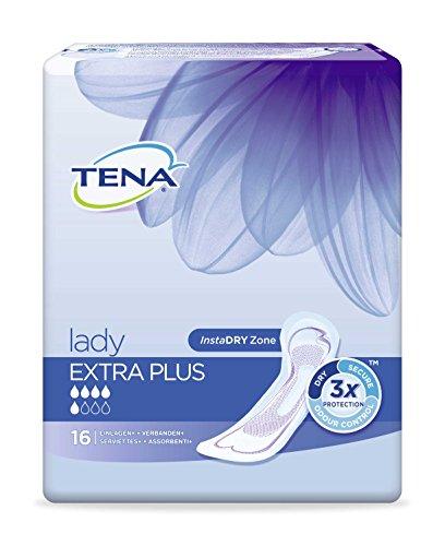 Tena Lady Extra plus - suagstarke Einlage - geruchsneutralisierend - bei mittlerer Blasenschwäche - 96 Stück