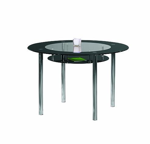 Esstisch glas schwarz  Links 50200500 Esstisch Küchentisch Glastisch Esszimmer Tisch ...