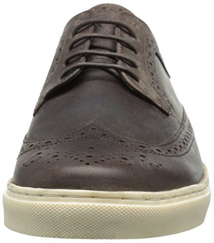 Crevo Heren Geleerde Fashion Sneaker Bruin Crazy Horse Leather