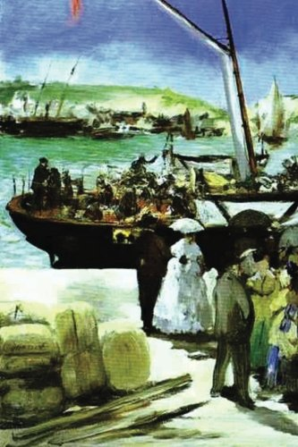 """Read Online """"The Departure of the Folkestone Boat"""" by Edouard Manet: Journal (Blank / Lined) (Art of Life Journals) pdf epub"""