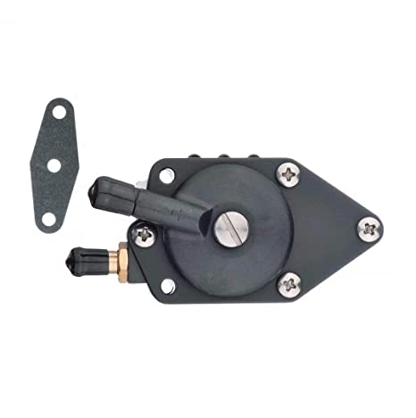 Outboard Fuel Pump with Gasket fit Johnson//Evinrude 20-140HP Replaces OEM 438556