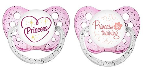 - Ulubulu Classic Expression Pacifier - 6-18 Months - 2 Pack - My Little Princess