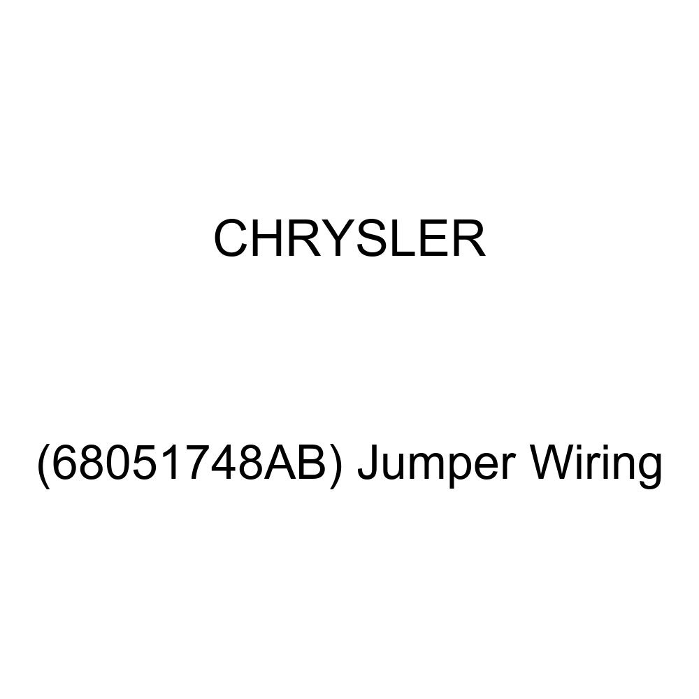 Genuine Chrysler (68051748AB) Jumper Wiring