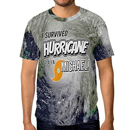 Franzibla Florida Strong Hurricane Michael Men's Short Sleeve T-Shirt Top Tee
