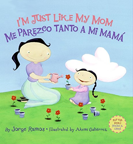 Girl Scout Backgrounds (I'm Just Like My Mom / Me parezco tanto a mi mama (Spanish Edition))