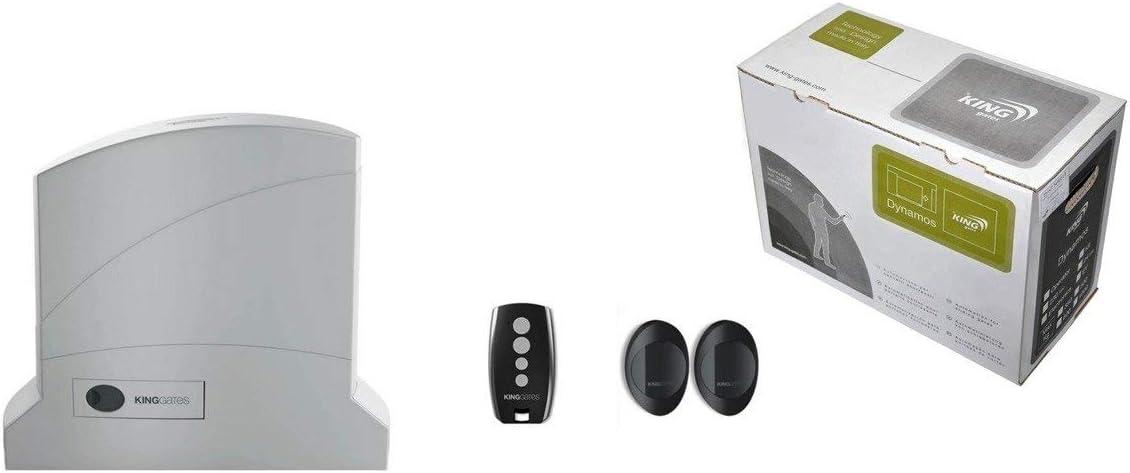 NICE KingGates Dynamos 500 - Sistema de automatización para puerta corredera (6 m, 500 kg)
