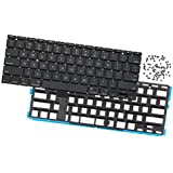 Odyson - Replacement Keyboard + Backlight + Screws (US English) for MacBook Air 11 A1465 (Mid 2012-Early 2015)