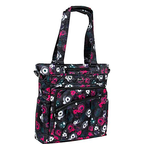 Lug Women's Ace Travel Tote, Water Black, One Size Review