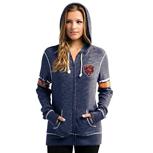 chicago bears hooded sweatshirt - 7