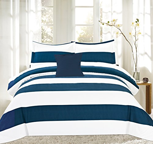 Sweet Home Collection 3 Piece Sensation Fancy Duvet Cover