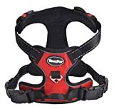 Best Front Range No-Pull Dog Harness.Reflective Outdoor Adventure Pet Vest with Handle. Extra Small