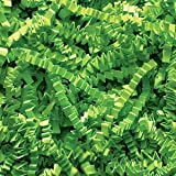 Lime Green Crinkle Cut Paper Shred 10 lbs/Case