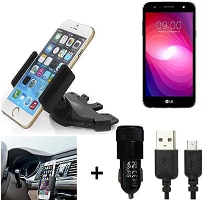 K-S-Trade® Top Set para LG Electronics X Power 2 Soporte Ranura de ...
